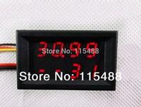 4 Bit voltage current meter DC0-33V/1A/3A Voltmeter ammeter 10A 0--100V 2in1