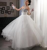 Free Shipping 2014 New Arrival Bridal Wedding Dress,Wedding Gown W0011