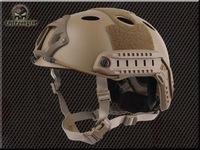 EMERSON tactical helmet Airsoft FAST PJ Helmet (Tan) em5668a