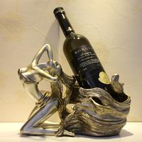 Elegant fashion wine rack belle corniculatum wine cooler decoration wine rack wedding gift decoration