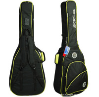 musical instrument Soldier Black Thick waterproof and shockproof sponge pressure Bass bag cover case 122cm*38cm Free shipping