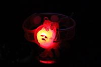Spider-man Flashing Bracelet Light Up Toys Glow Bracelets Flash LED Party Toy