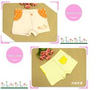 New 2014  Candy  100% Cotton Children's Briefs Girl  Wholesale Underwear Bread Pants  Kids boxer