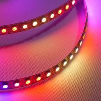 1M WS2811 WS2812 LED 74led/M Digital Strip Light RGB Individually IC Bulit-in 5V