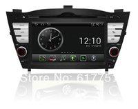 7''HD Touchscreen Android Car DVD GPS Navigator for Hyundai IX35 Car,Radio,Bluetooth,iPod,Free Wifi Dongle+shipping+Free map