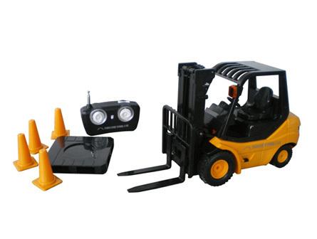 Wholesale - Desktop Crane Remote control cars REMOTE CONTROL MINI FORKLIFT RC Truck(China (Mainland))
