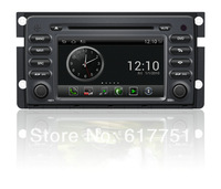 7''HD Touchscreen Android Car DVD GPS Navigator for Car Benz Smart Audio,Radio,Bluetooth,iPod,Free Wifi Dongle+shipping+Free map