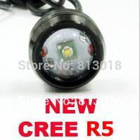 2014 New!! CREE R5 6W Car led Reverse eagle eye light daytime running lights DRL backup tail light lamp