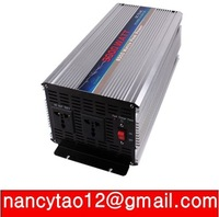 3000W  12V to 220V  UPS Power Inverter with 10A charger 2 years quality warranty pure sine wave inverter free shipping