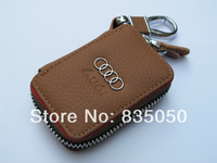 Key Case Chain Fob for Audi A4 A6 A1 A2 Q3 Q5 7 Q7 R8 S5 TT A5 Holder bag A3