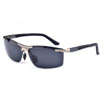 2014 Brand Polarized  Sunglasses Aluminum Magnesium Alloy Golfing/Fishing/Running/Driving Glasses Outdoor Sport Eyeglasses