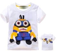 2014 new boys girls tshirts The Pacifier t-shirts kids children's children t shirts Tops & Tees free shipping 6pcs/lot