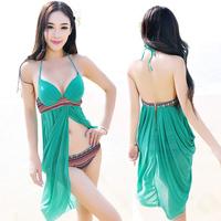 2014 bikini /plus size swimwear/swimsuit hot springs