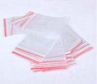 Free Shipping 100Pcs Self Sealing Zip Lock Plastic Transparent Bags 60*90mm/packaging bags