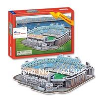 Free Shipping  Playwright Pradesh 3d PUZZLE adult toys main stadium in Valencia Mestalla stadium educational toys paper model