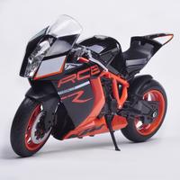Ktm motorcycle 1190 rc8 model alloy car models motorcycle model toy