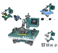 Green Color New Design 4 in 1 Heat Press Machine,Tshirt Printing Machine, Cheap Iphone Case/ Mug/Tshirt Printer,Sublimation