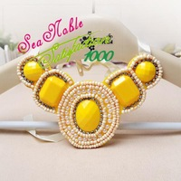 New 2014 Imitation Beads Collar Necklace Chokers Fashion Jewelry S294