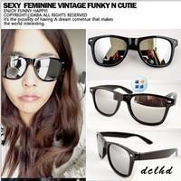 Hot Sale 2014 Women and Men Reflective Mirror sunglasses Outdoor Sports Wayfarer Beach Fashion Sunglass 10pcs/lot
