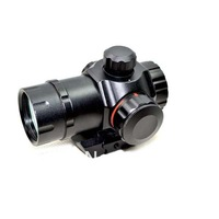 Free Shipping Mini Micro Illuminated Red Green Dot Sight Compact Riflescope T1 for 20mm Rail Hunting Airsoft Rifle Optical Sight