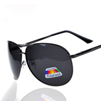 2014 special offer new high-end wholesale men polarized sunglasses brand aluminum magnesium male driving mirror driver glasses