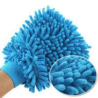 New Car Wash Glove, Microfiber Chenille car cleaning cloth, chenille car cleaning glove 3pcs/pack