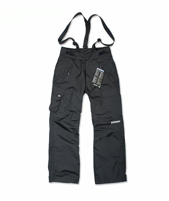 Livraison gratuite de planche à neige sport en plein air vent imperméable et respirant double couche de neige d'hiver ski pantalons pour homme