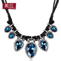 False collar necklace female short design fashion big chain fashion luxury necklace accessories 243