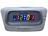 Sentry multicolour screen clock radio lounged bedside alarm clock alarm clock radio