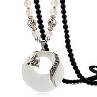 For nec  klace eye - small fox necklace long vintage design decoration pendant national trend 182