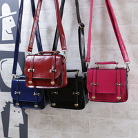 2014 women's handbag preppy style vintage messenger bag portable mini cross-body bags