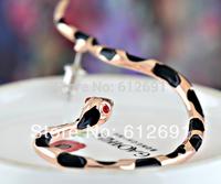 Korea snake ear clip 18K plated earring ear clips fashion 2014 earrings personality jewelry new c-type ear clips girl LM-C114