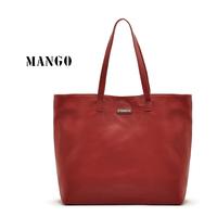 2014 woman handbag  mango bag Pure soft PU leather shoulder bag free shipping