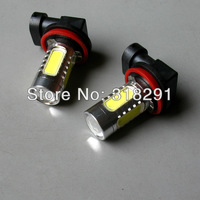 Wholesale H11 H8 9006 hb4  11W Car LED Fog Lamp Automobile Light Bulbs Wedge High power cree r5  top