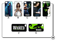 1pc new WICKED IDINA MENZEL Hard Back Cover Case for iPhone 4 4S