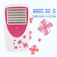 New 2014 Handheld Air Conditioner Fan Fashion Mini USB Air Conditioning Fan