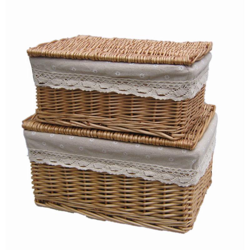 Willow rústica rattan lanches frutas bandeja de armazenamento caixa de cesta(China (Mainland))