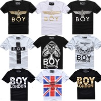 boy london hot-selling bigbang fashion brief eagle lovers short-sleeve T-shirt letter