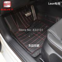 Full leon mat foot pad Seat ibiza returns Alhambra null full surrounded car mats carpets free shipping carpet hot selling good