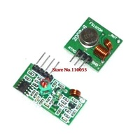 Lowest Price!! 433Mhz RF transmitter and receiver kit for Arduino Project Drop Shipping TK0460