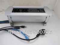 ZSPM-4 manual desktop socket with European power