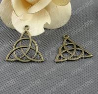 60 pcs/lot Zinc alloy bead Antique Bronze Plated 28*29MM Circle Figure Charms Pendants Fit Jewelry Making DIY JJA2033