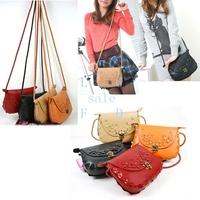 5PCS/LOT Fashion all-match girl's handbag messenger bag women lovely follower pattern hot sell bags 5411