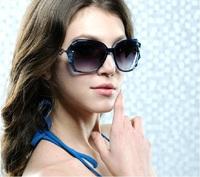 2014New arrival Sunglasses Summer Sun Glasses Women's Vintage Sunglass fashion Women Sunglasses 7COLORS Frame FREE SHIPPING