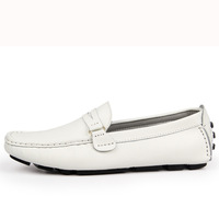 Free shipping, Spring, men, Peas, set foot lazy, leather, England, casual, a pedal boat, driving shoes