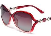 2014 new fashion Ms. polarized sunglasses the gradient polarizer female models