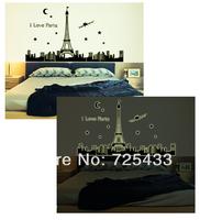 ALWAYS FOREVER- Glow in the dark wall sticker Paris