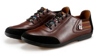 Free shipping,Spring, men's shoes, leather, temperament, wild, casual , England, fashion, tide