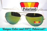 2014  Driver's TAC enhanced 100% polarized Color polaroid polarised golf fishing ski UV 400 Men women sunglasses with test card