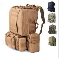 511 tactical backpack multifunctional combination backpack outdoor travel bag Camouflage male hiking bag